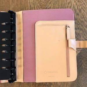 Franklin Covey Office - Franklin Covey Planner Textile Leather Binder